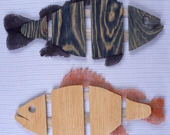 Fish Wall nautical Decor, Wooden Fish Wood carving Fisherman gift Housewarming gift rustic coastal sign beach house decor Art fish sculpture