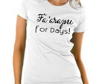 Fa'arapu T-Shirt