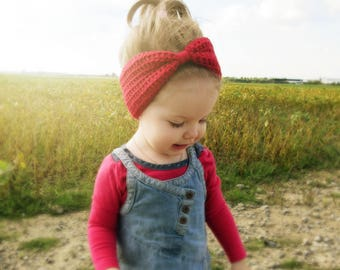 Mommy and me headband, 100% peruvian wool, red winter, baby, toddler, girl, crocheted headband, women headband, winter, teen, fall, spring