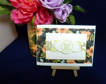 Thank You Handmade Card Stampin' Up!