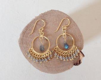 """""""Indian wheel"""" earrings"""
