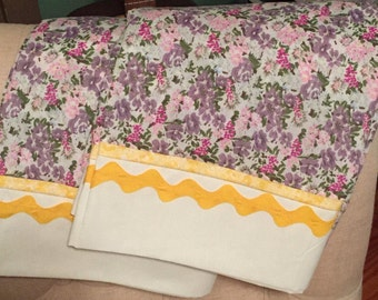 Decorative Pillowcases, Set of 2, Pillow Covers, Bedding