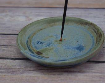 Rustic Ceramic Incense Burner, Handmade Incense Holder, Cone Incense, Stick Incense