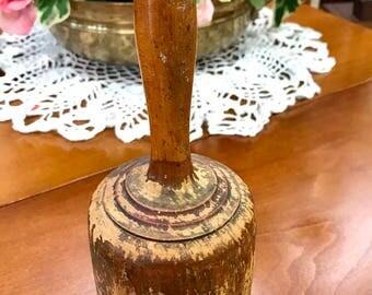 Antique  Primitive wood masher