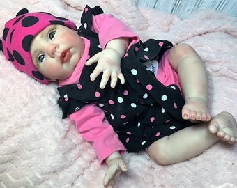 "Reborn Baby Girl ""Sarah"" by Believable Babies for People with Dementia and Alzheimer's- Doll Therapy for Memory Care"