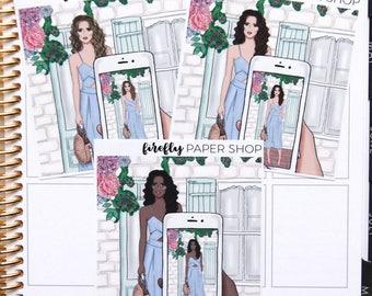 Style Double Box (for Erin Condren Life Planner - Vertical)