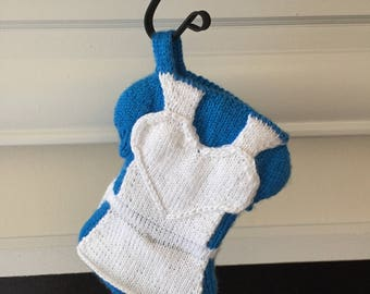 Alice Inspired Holiday Stocking