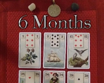 6 months Card Reading