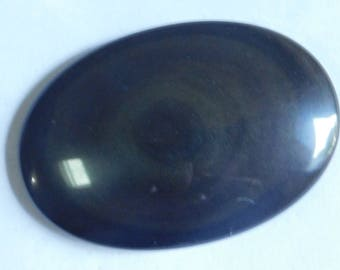 Natural Rainbow Obsidian Cabochons,Loose Gemstone Top Quality handmade Natural Cabochons Loose stone 154.30Cts. (57X39X11)mm (#1276)