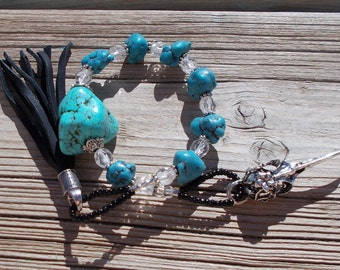 Prayer beads, worry beads, witches beads, meditation beads, pagan prayer beads, wiccan beads, mala beads, lenten, skull