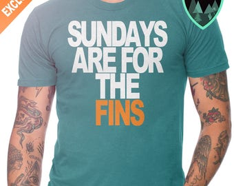 Miami Dolphins Sunday Shirt, Sundays are for the Fins Shirt, Dolphins Shirt, Sundays are for the Dolphins, Miami Dolphins Shirt,