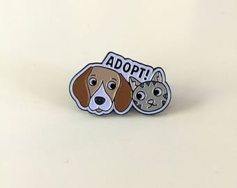 FUNDRAISER: Adopt!, the enamel pin