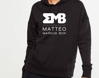 Markus bok matteo hoodie new