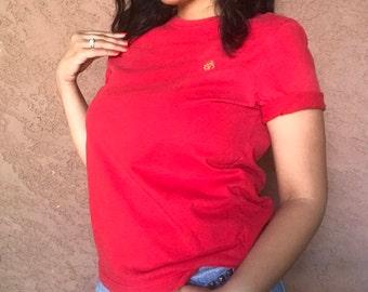 Women's Lauren Ralph Lauren Red T-Shirt