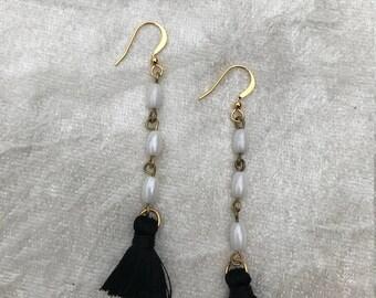 Dangle Tassel Earrings