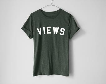Views Shirt - Drake Shirt - Drake Tees - Hip Hop Shirt - Rapper Shirt - Hip Hop Tees - Music Shirt - Drake Lover Gifts - Mami Tees
