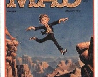 Vintage 1992 Mad Magazine (Trading Card) #53 March 1960
