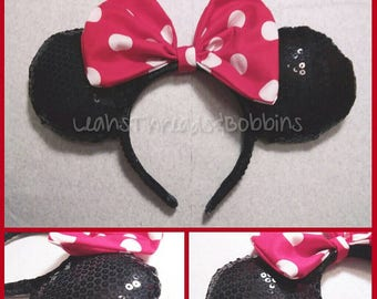 Classic Minnie Sequined Ears
