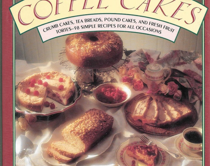 Coffee Cakes by Ceri Hadda 1992 (Hardcover)