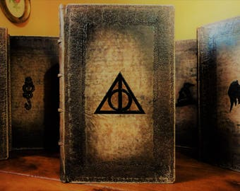 Transform leather bound harry potter books - Leather bound harry potter book set