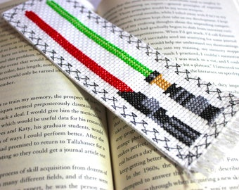 Star Wars Bookmark, Cross Stitched Bookmark, Page Holder