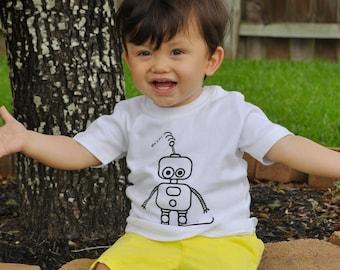 Baby robot shirt, Baby shirt, customizable shirt, robot name shirt, personalized robot shirt, baby robot, fantasy shirt, baby shower gift