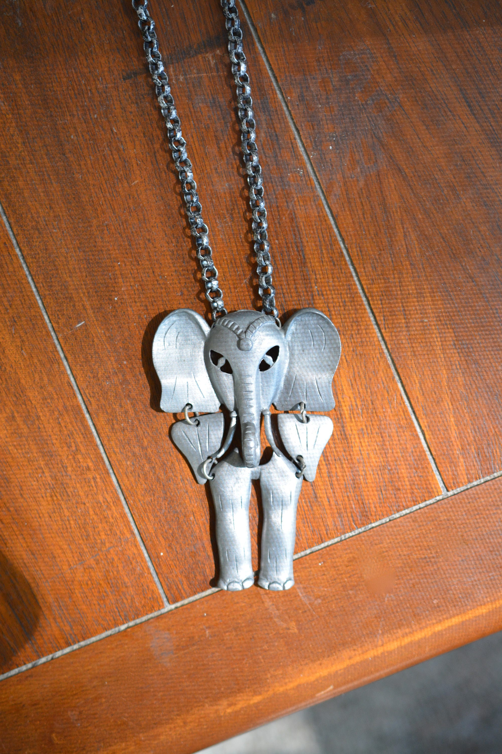 rope lane pendant ruby chain carved on item elephant unusual necklace junction vintage large resin antiques silver appletree