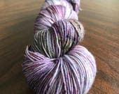 Wisteria on Simple Sock - Hand-dyed sock yarn