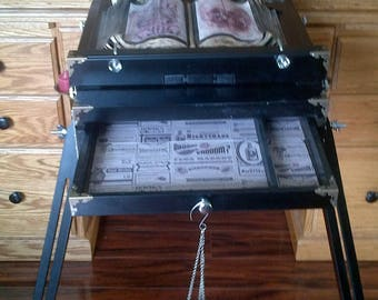 Portable Witches Alter / Easel Occult Magic SpellCasting Table