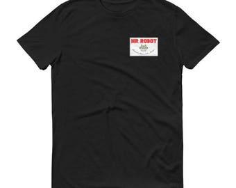 Mr. Robot Patch Men's Tee Shirt