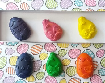 Easter gift box with chick and egg crayons, kids Easter, boys Easter gift,girls Eater gifts,