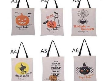 Personalized Halloween Totes