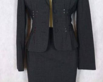 Moschino cheap and chic-suit with skirt with sequin insert Made in italy