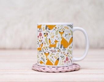 Fox Tails 2 Mug