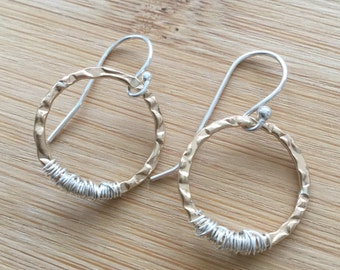 Mixed metal jewelry Etsy