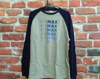 Vintage NIKE Air Max Sweatshirt