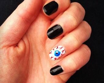 Halloween fake nails | Etsy