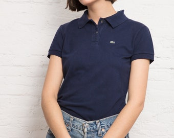 Vintage Lacoste Navy Polo Shirt