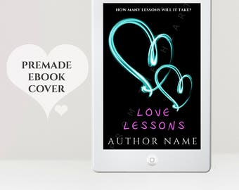 eReader Cover - Young Adult eBook Cover - New Adult cover - Heart eBook Cover - Romance eBook Cover - Love Book Cover - Kindle Cover
