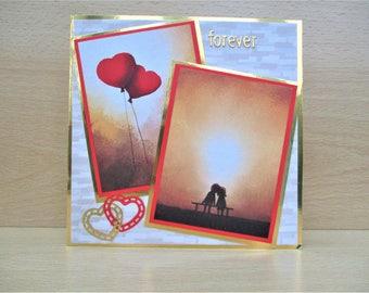 Forever valentine card