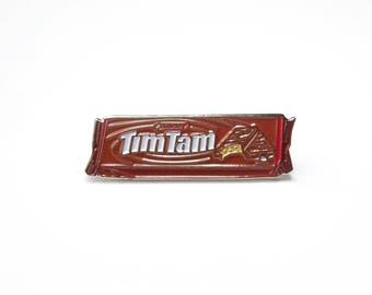 Original TIMTAMS Enamel Pin Australian