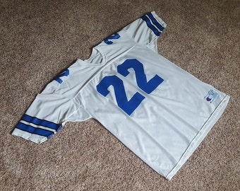 Vintage 1990s Emmitt Smith Dallas Cowboys NFL Jersey by Champion