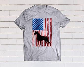 Distressed american flag svg, Usa flag svg, Patriotic svg, Boxer dog svg, SVG Files, Cricut, Cameo, Cut file, Clipart, Svg, DXF, Png, Eps