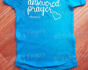 Answered Prayer Infant Bodysuit