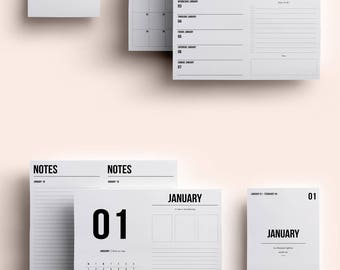 B6 TN Insert | B6 TN Printable | B6 TN Printable Insert | B6 Insert January