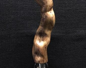 Driftwood beer tap handle
