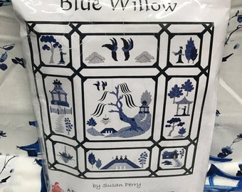 Blue Willow by Susan Perry Quilt Pattern