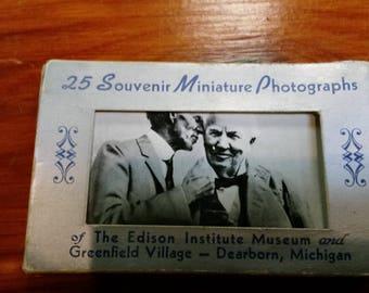 Souvenir Miniature Photos-Edison Museum