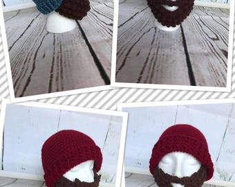 Crochet Beardo Beanie