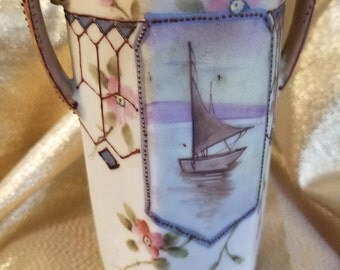 Nippon Morimura Porcelain Vase